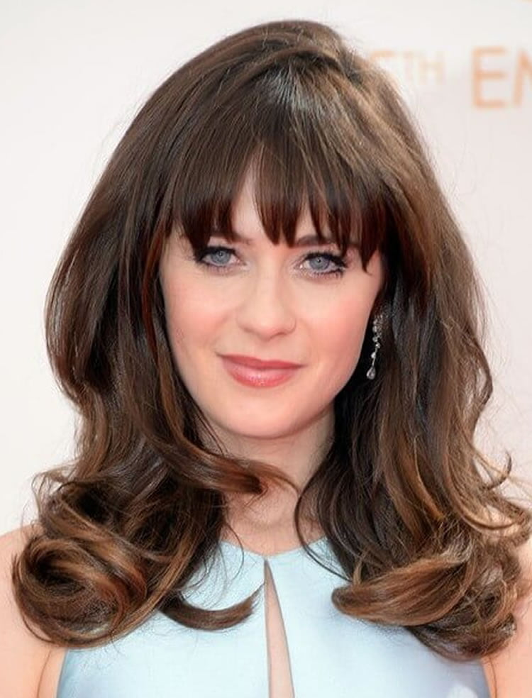 Modern Hairstyles With Bangs Hairstyles