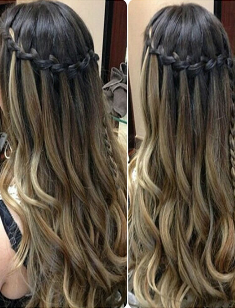 100 Chic Waterfall Braid Hairstyles How To Step By Step Images