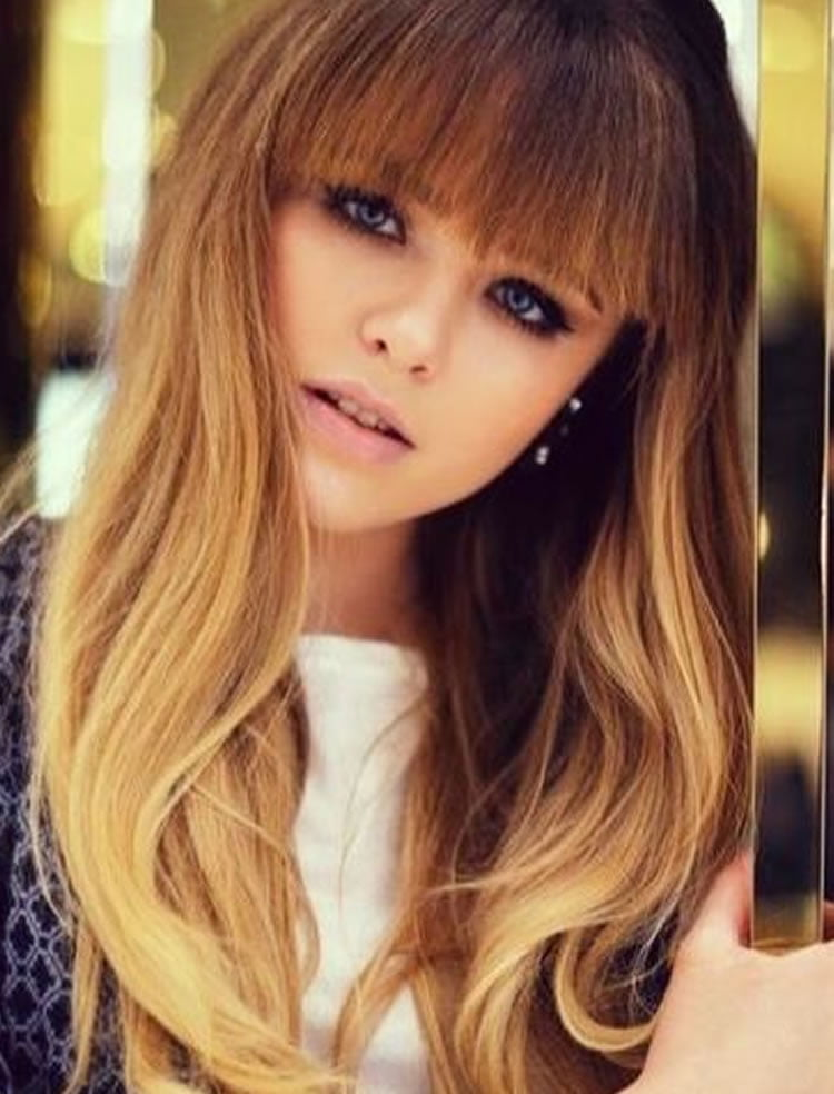 100 Cute Hairstyles with Bangs for Long, Round, Square