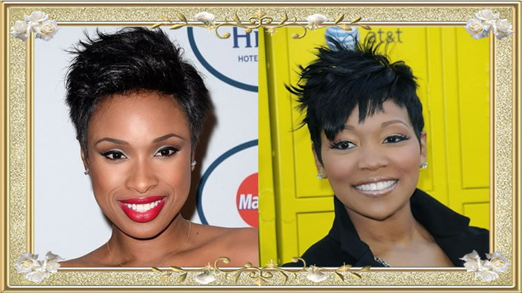 Short Messy Hairstyles for Black Women Winter 2017