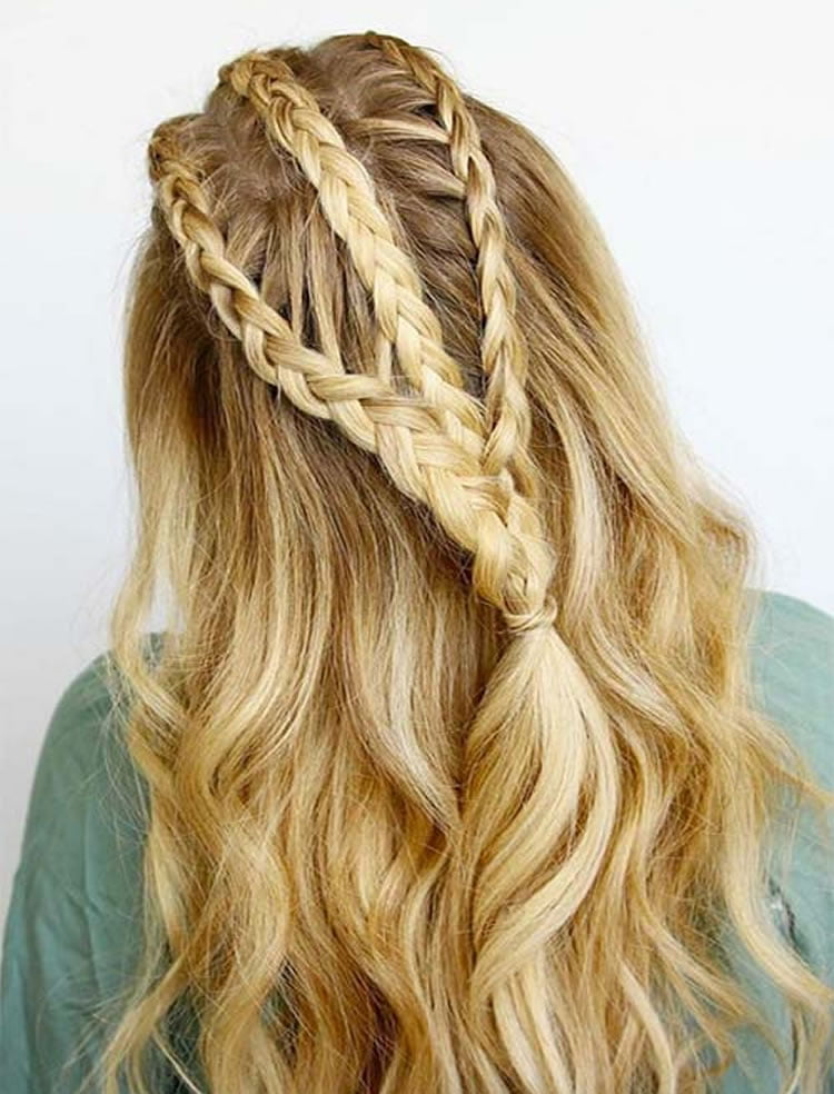 100 Side Braid Hairstyles for Long Hair in 2020-2021 - Page 6 - HAIRSTYLES