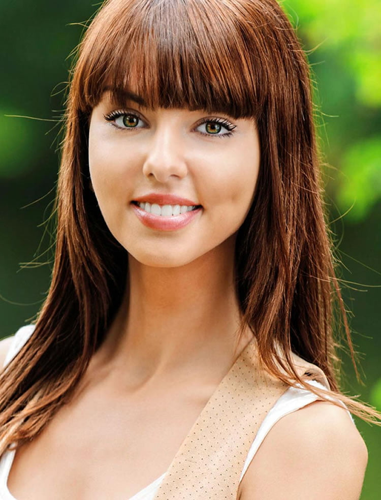 100 Cute Hairstyles with Bangs for Long, Round, Square Faces - Page 8 - HAIRSTYLES
