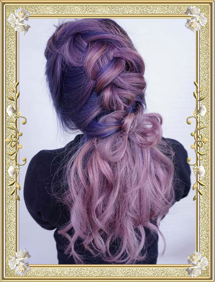 Textured Chunky Braided Hairstyles for Women