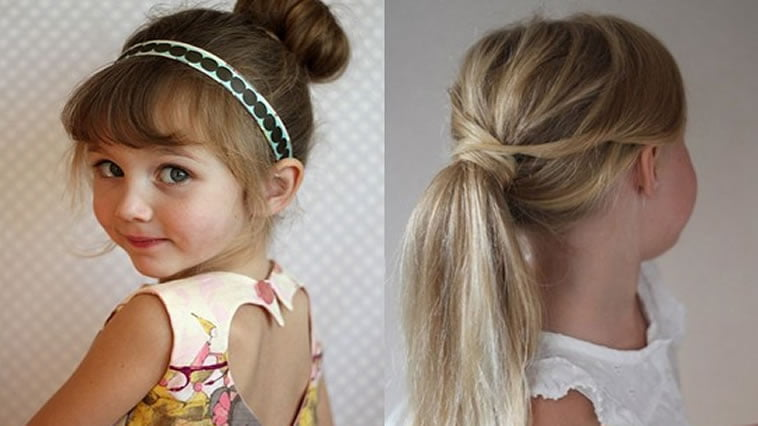 2 little girls hairstyles