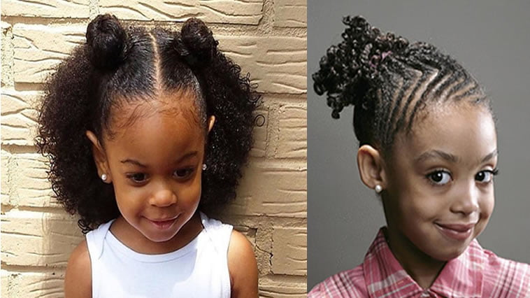 2017 Black Little Girl's Hairstyles