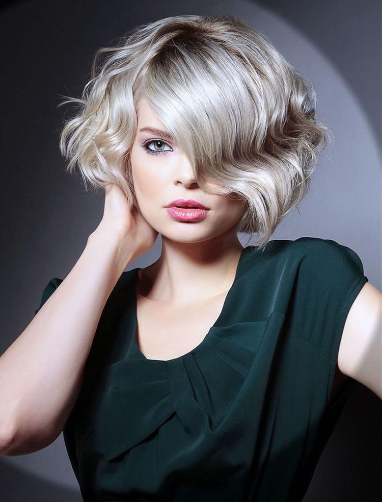 Wavy Hairstyles For Short Medium Long Hair Best 46 Haircuts For