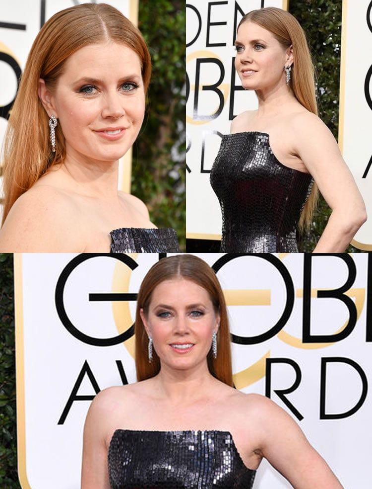 Amy Adams Golden Globe Awards Red Carpet 08 January 2017