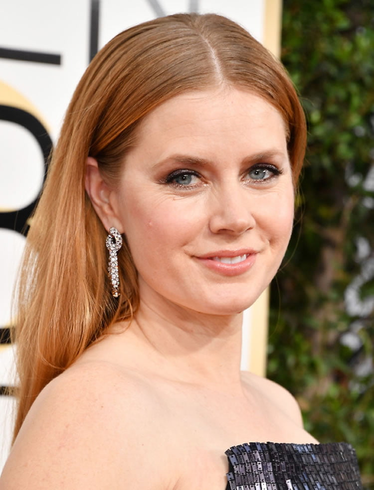 Amy Adams Hairstyles at the 74th Golden Globe Awards 08 January 2017