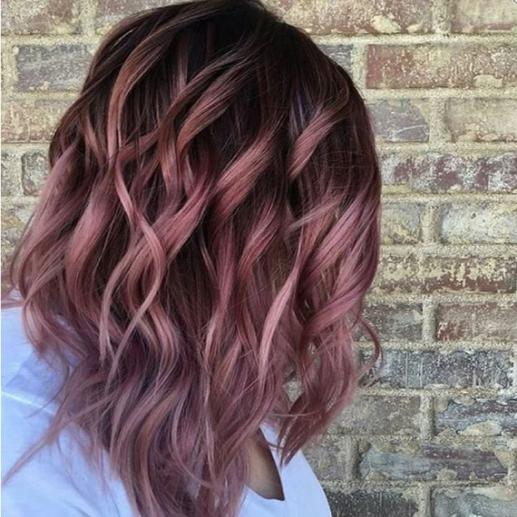 Auburn Ombre Hairstyles 2017