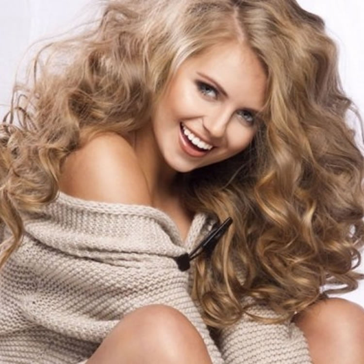 Beautiful Blonde Curly Hairstyles for Long Hair 2017