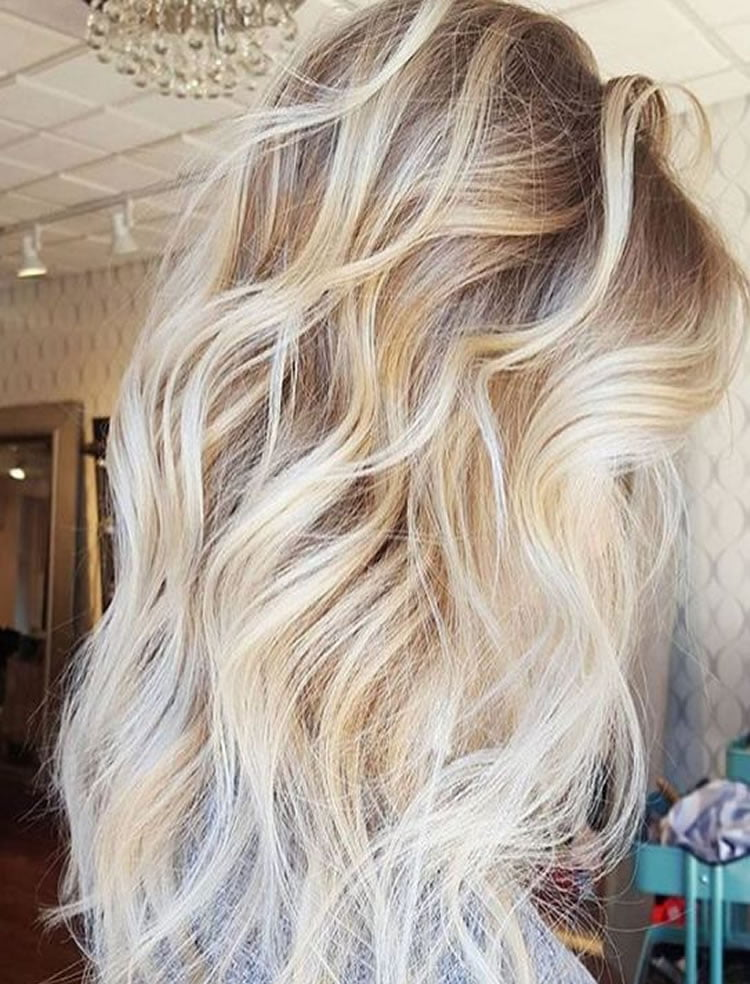 Beautiful Blonde Hair Color Ideas for Long Hair
