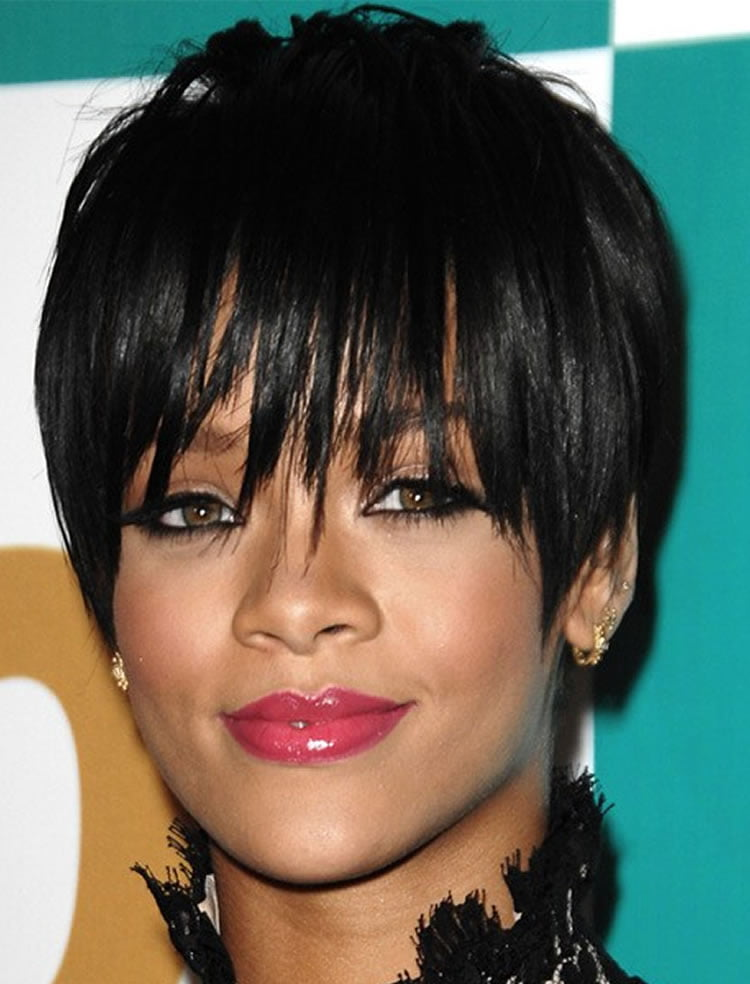Beautiful short bob haircuts 2017 for black women