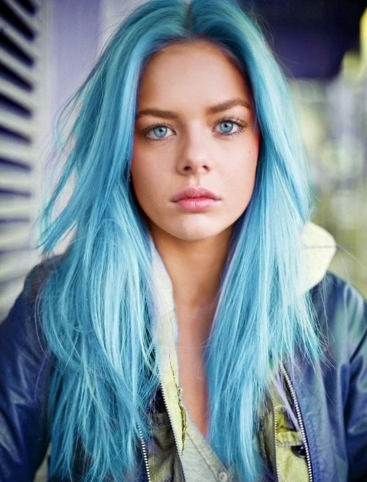 Blue Ombre Hair 2017