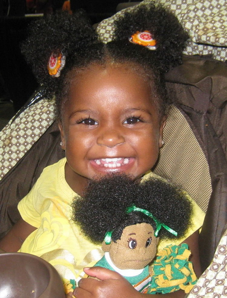 Buns hairstyle for little African American girls – HAIRSTYLES