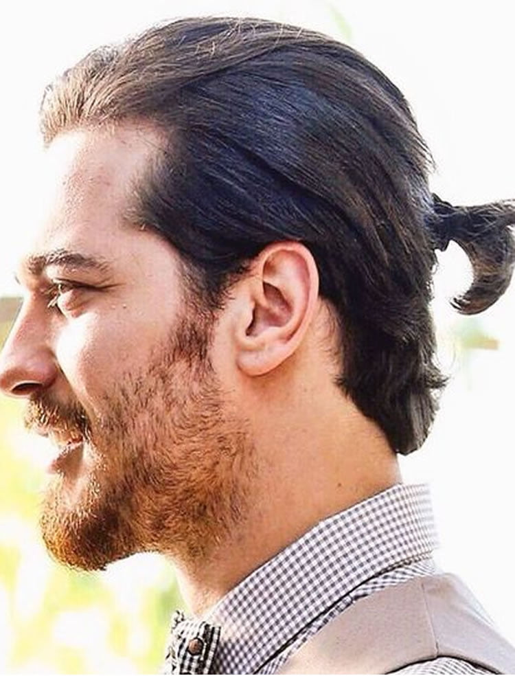 Charming ponytail hairstyles for men 2017