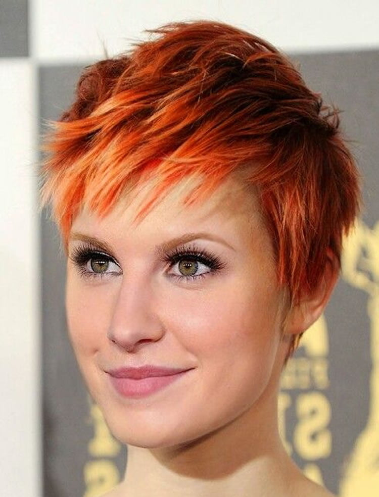 how to style red hair pixie hairstyles and haircuts for 2017 how to choose the 2990 | Chic Pixie Hairstyles and Haircuts for 2017