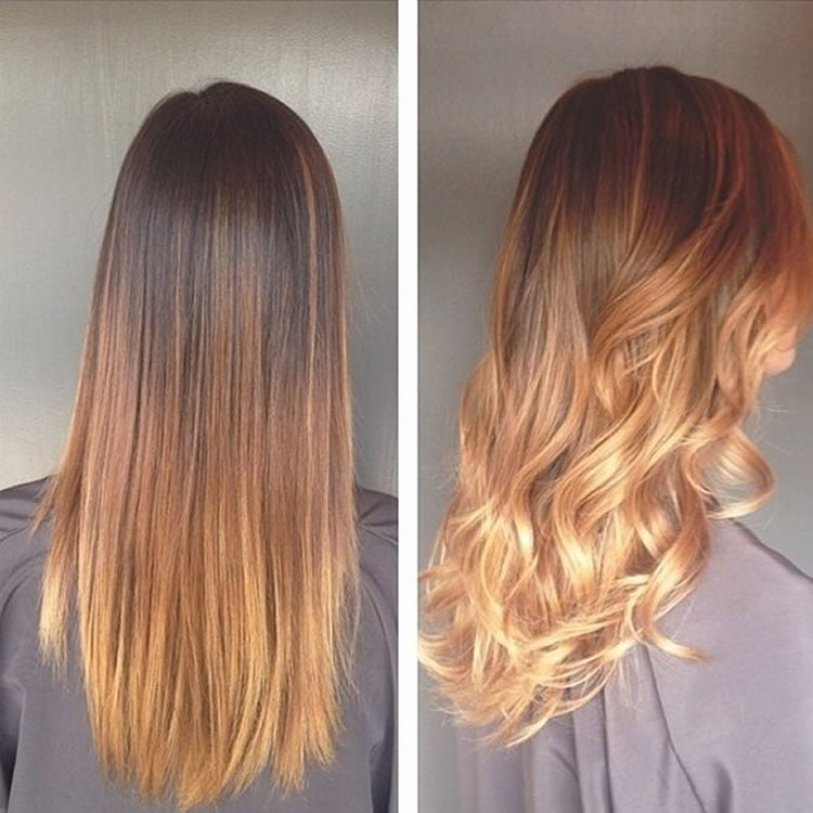 Classy Ombre Hair for Long Hairstyles 2017