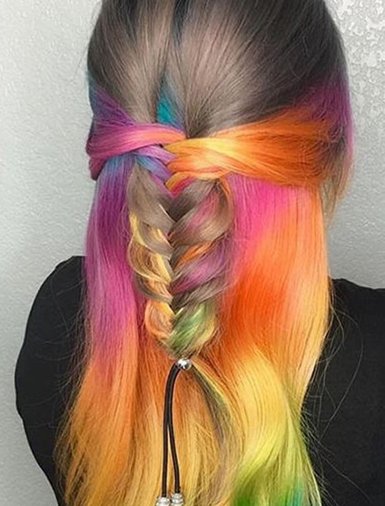 Colorful 2017 Ombre Hair