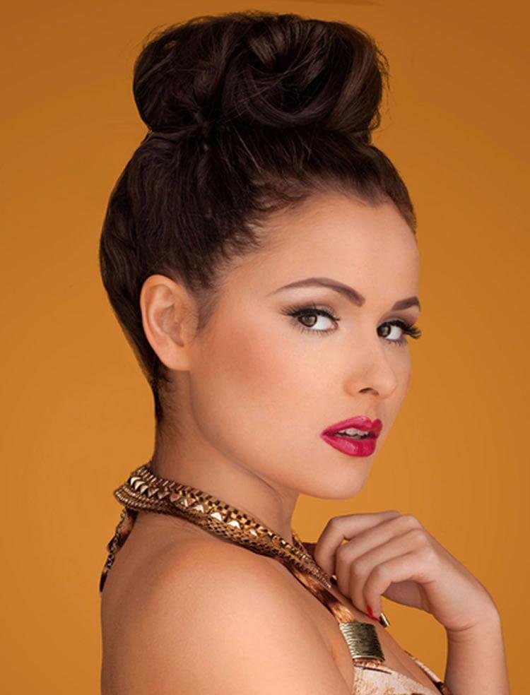Cute Bun Hairstyle Ideas Tutorials For Round Faces Women Hairstyles