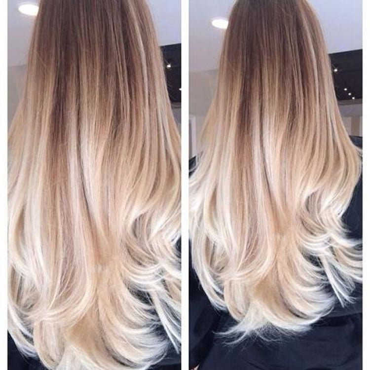 Dashing Blonde Ombre Hair Colors for Long Hair 2017