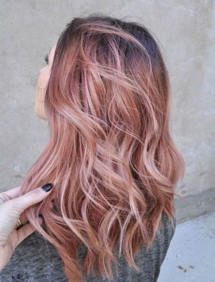 Delectable Caramel Ombre for Long Hair 2017