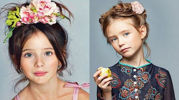 Different hairstyles for little girls