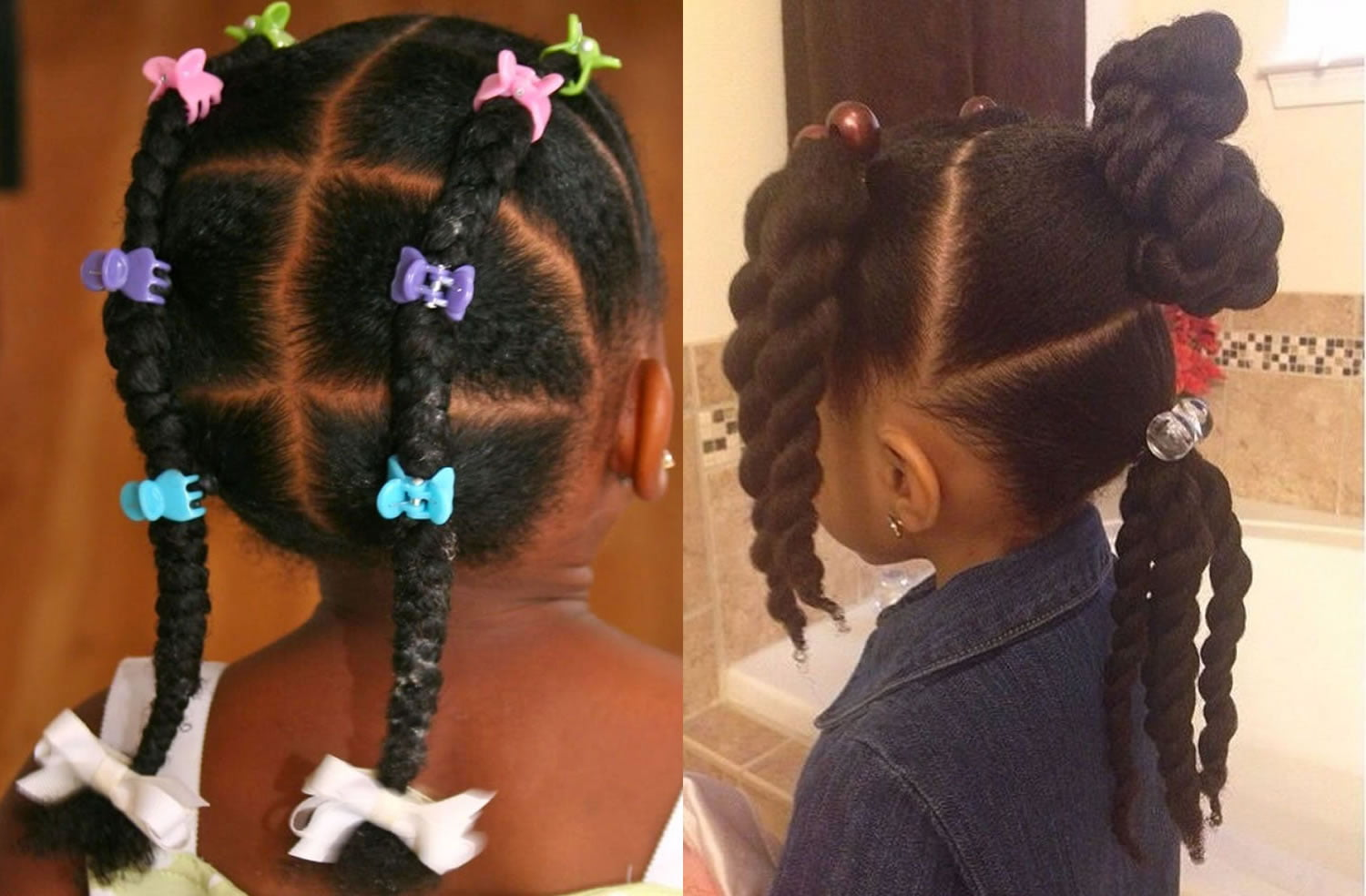 black little girl's hairstyles for 2017- 2018   71 cool haircut