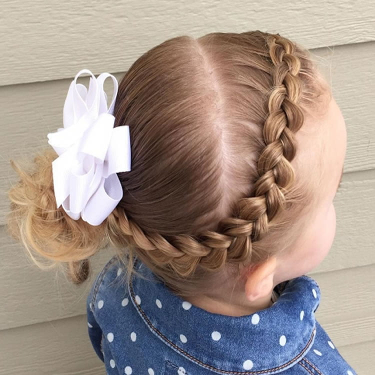 Excellent hair braids for little girl