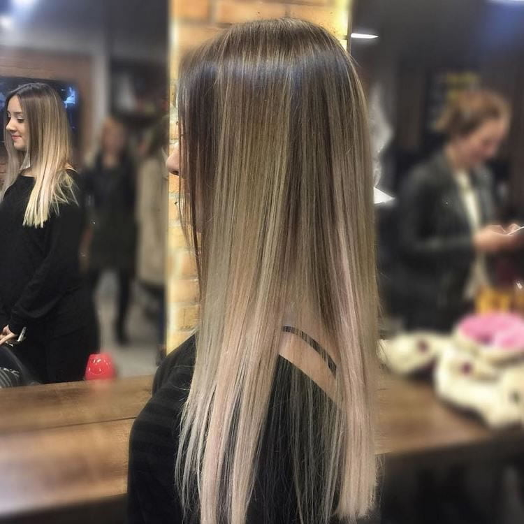 Glamorous Ombre Hair for Long Hairstyles 2017