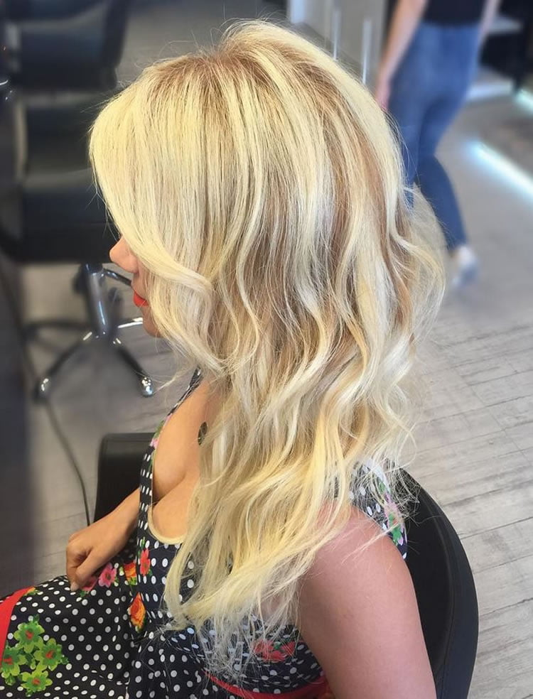 Incredible Ombre blonde 2017