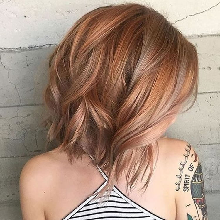 Length Bob Hairstyles For Ombre Short Hair Hairstyles
