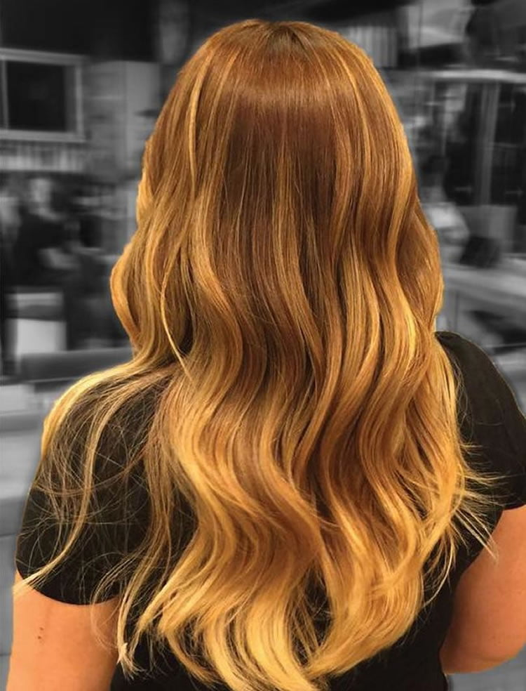 Lovely Ombre Brown Hair 2017