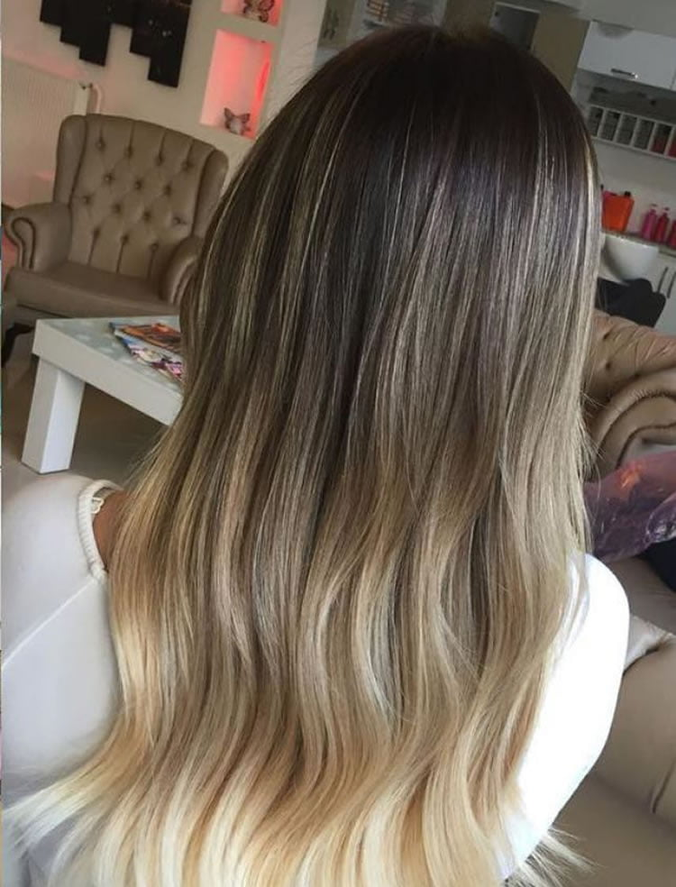 Lovely Ombre Hair for Long Hairstyles 2017
