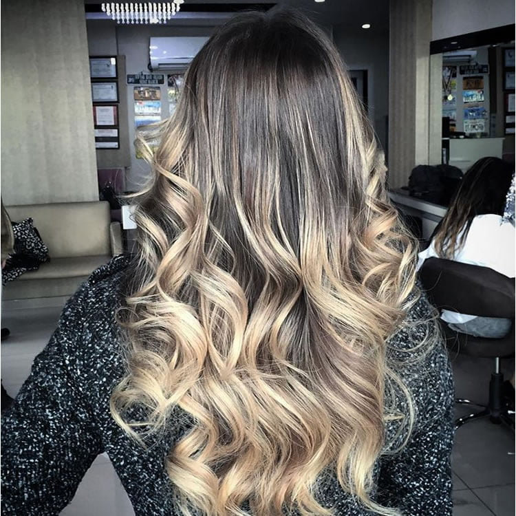 Magnificent Ombre Brown Highlighted 2017