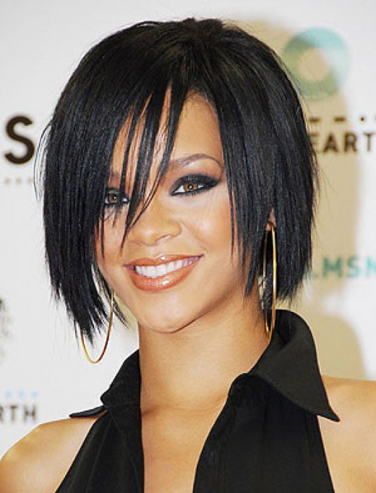 Medium bob hairstyles for celebrities