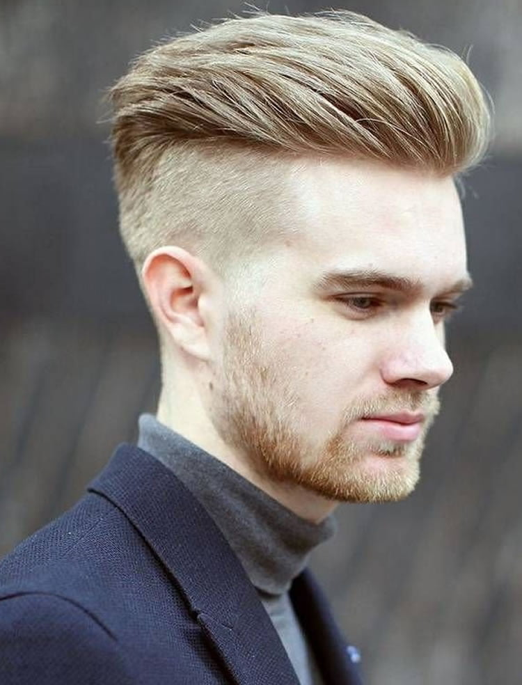 Men's undercut hairstyles for long faces 2017
