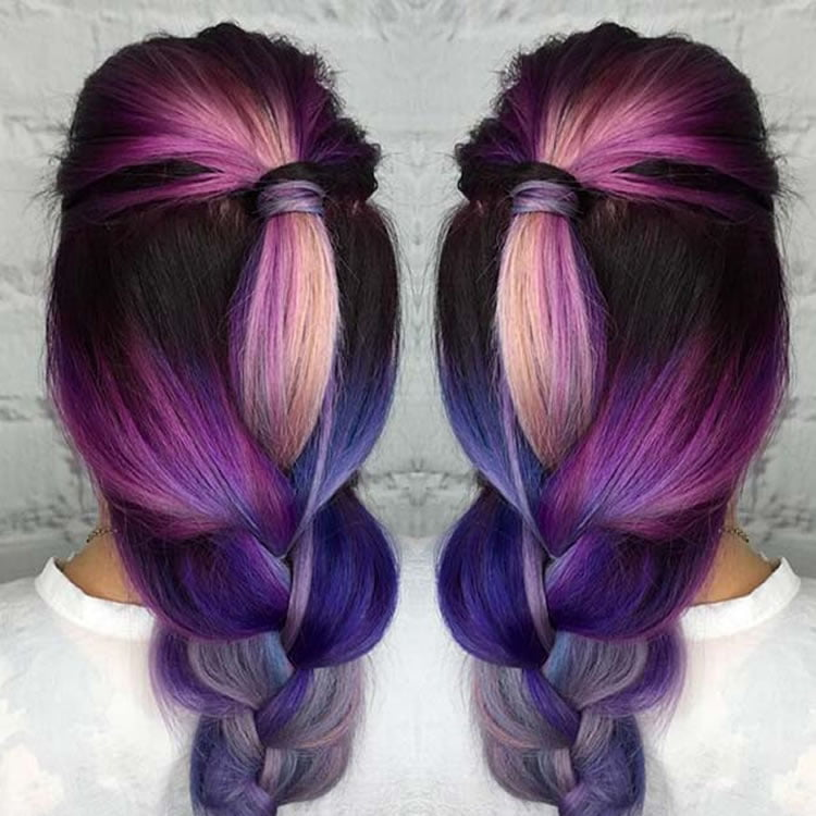 Modern Ombre Hair for Long Hairstyles 2017