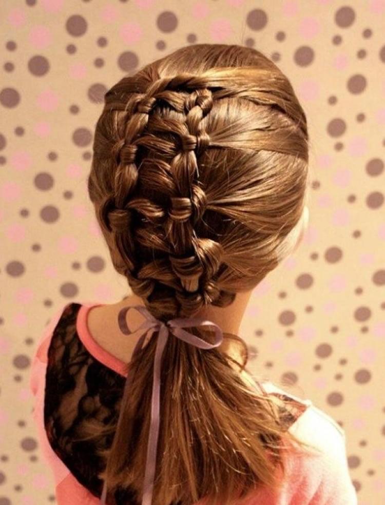 Modern little girls hairstyles