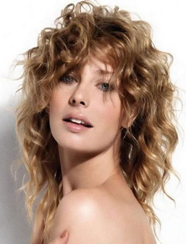 med haircuts with bangs wavy hairstyles for medium hair best 46 2338