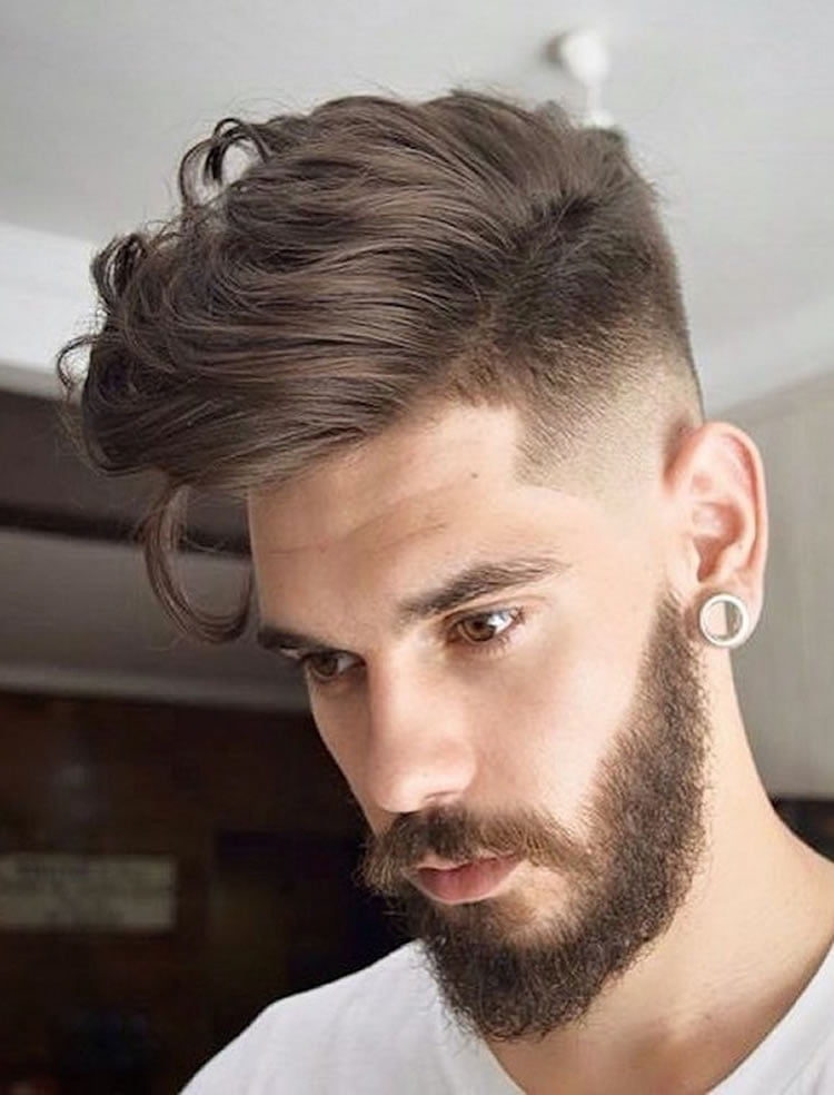 Pictures of hairstyles for men with beard
