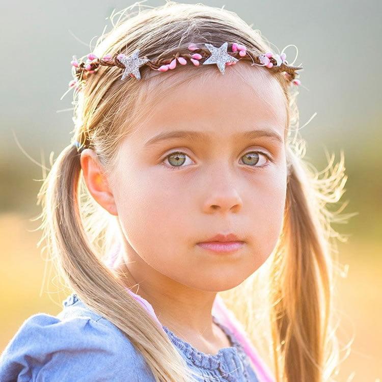 Popular hairstyles for long hair for little girls