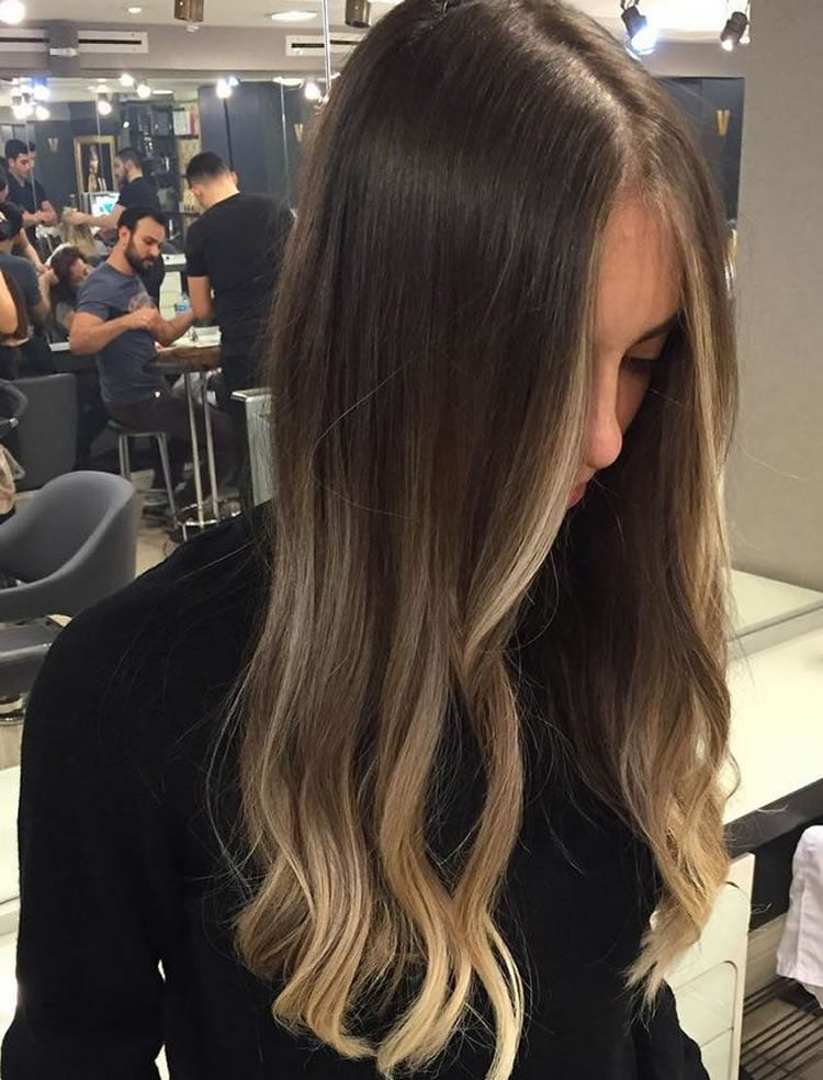 Pretty Ombre Hair for Long Hairstyles 2017