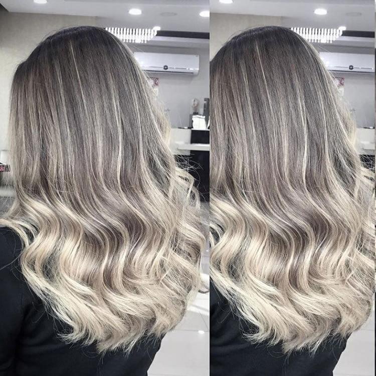 Refulgent Ombre Gray Hair 2017