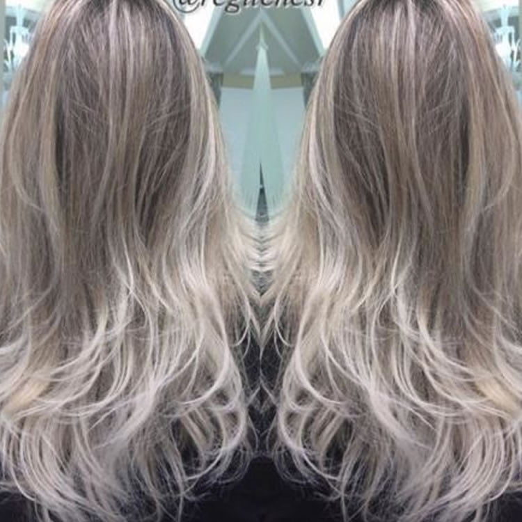 Snazzy Ombre Hair for Long Hairstyles 2017
