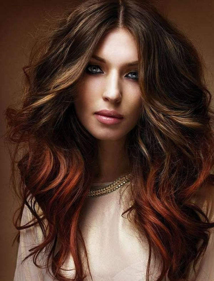 Splendid Ombre Hair for Long Hairstyles 2017
