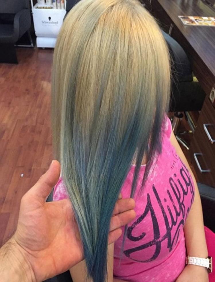 Straigh Hair Ombre 2017