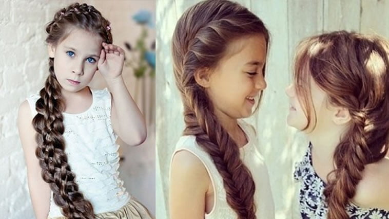 Stylish braided hairstyles for little girls
