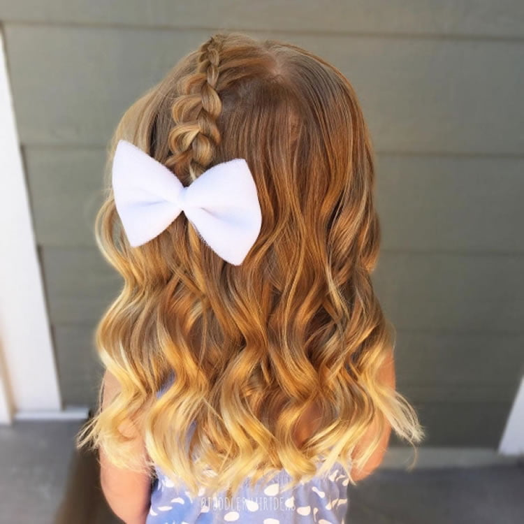 Superb braided hairstyles for little kids girls