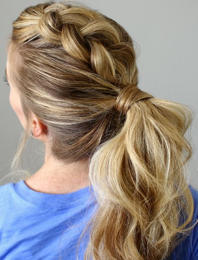 hair ponytail styles hair colors for 2017 50 fabulous pictures of 1859