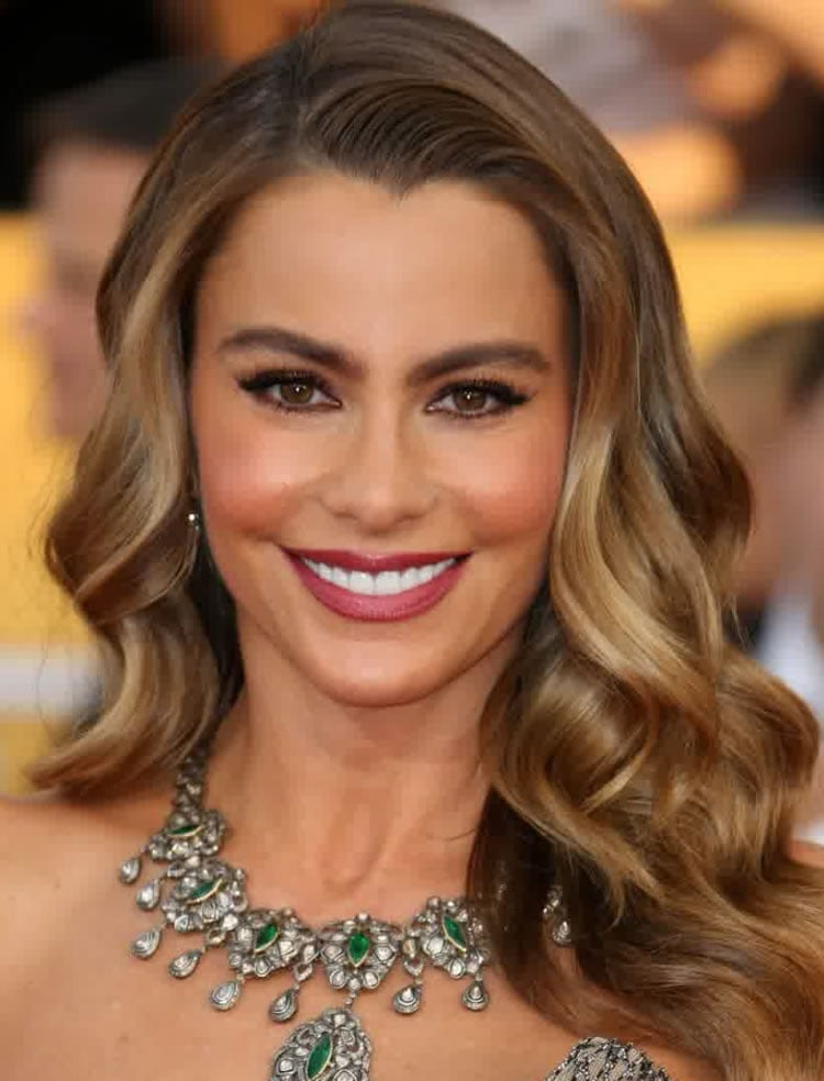 Wavy Hairstyles 2017 Auburn Ombre Color